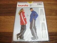 BURDA-PLUS Schnittmuster 2857               2x  HOSE       Da: 38-52   He: 44-58