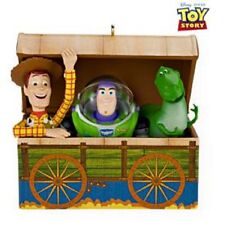 2009 Hallmark TIME TO PLAY Disney Pixar TOY STORY Ornament WOODY BUZZ *Priority
