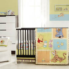 3 Piece Winnie the Pooh Tidy Time Baby Nursery Bedding Crib Set