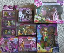 MY LITTLE PONY LOT APPLE JACK ACRES BARN SOARING PEGASUS FIGURES SETS PINKIE PIE