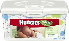 HUGGIES Natural Care Baby Wipes, Unscented 64 ea