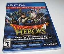 Dragon Quest Heroes for Playstation 4 Brand New! Factory Sealed!