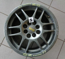 Alufelge OZ racing f1 7jx15h2 et 37 01459291 LK 4x100 +4x114,5 Bague de centrage ø 54