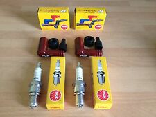 DUCATI 350 & 450 DESMO MK3 500 GTL SPORT NGK SPARK PLUGS AND CAPS FREE POST!