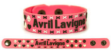 AVRIL LAVIGNE Rubber Bracelet Wristband Let Go The Best Damn Thing Pink