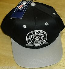 Oakland Raiders YOUTH Vintage Snapback hat NEW w Tags NFL kids hat MINT