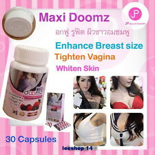 Maxi Doomz Glutathione anti aging whitening active & breasts bigger 30cap
