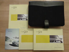 SAAB 93 9-3 Owners Handbook/Manual and Wallet 02-06