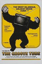 THE GROOVE TUBE (DVD)1974 MUSIC TV SATIRE COMEDY HIPPIE STUFF
