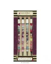Gorjuss Set of Mechanical Pencils Santoro Christmas Gift Stocking Filler set 2