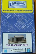 Builders In Scale HO #601 The Tracksid Shed (Building Kit) Craftsman