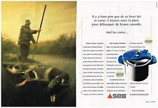 Publicité Advertising 1997 (2 pages) Autocuiseur SEB