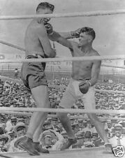 Jack Dempsey v Jess Willard World Heavyweight Boxing Title 1919 KO Blow 5x4 Inch