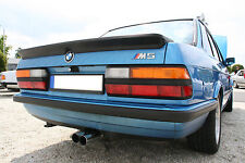 BMW E28 5 series rear trunk spoiler ducktail lip duck tail bill duckbill M5 CSL