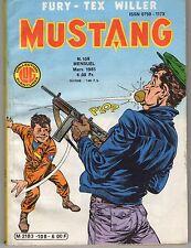 """BANDE DESSINEE """" MUSTANG """" N0 108 DE 1985"""
