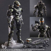 Square Enix Play Arts Kai HALO 5 GUARDIANS MASTER CHIEF Action Figure New In Box