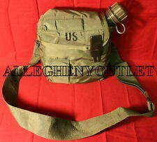 NEW US Military 2 Quart Collapsible Canteen w CAP & EXC 2QT OD Cover & Strap