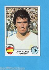 SPORT SUPERSTARS/EURO FOOTBALL 82-PANINI-Figurina n.222- JUANITO -SPAGNA -Rec