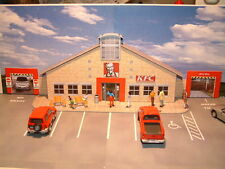 """Low Relief K F C """"DRIVE THRU""""  Self Assembly Card Kit Only available here."""