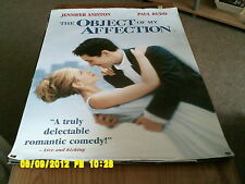 The Object Of My Affection (jennifger aniston, paul rudd)  Movie Poster