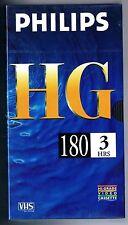 VHS VIDEOCASSETTA PHILIPS HG E-180  SIGILLATO!!!