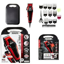WAHL Professional Hair Cut Clipper Trimmer Set 20 Piece Shaving Machine Barber