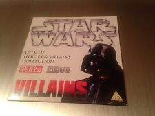 Star Wars Heroes And Villains Collectors Promo DVD. From Sun/news Of The World