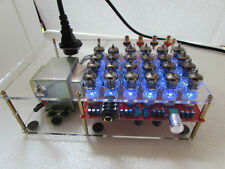 Finished HIFI class A 6J1 headphone amp tube preamplifier 24pcs 6J1 tubes