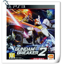 PS3 GUNDAM BREAKER 2 高达破坏者2 中文版 SONY Playstation Action Games Namco Bandai