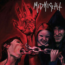 MIDNIGHT - No Mercy For Mayhem LP (Oxblood vinyl) 5x4 OFFER  Read Description