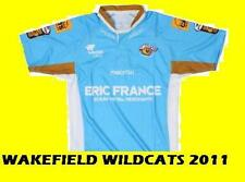 WAKEFIELD WILDCATS RUGBY LEAGUE SHIRT XS MENS/XLBOYS