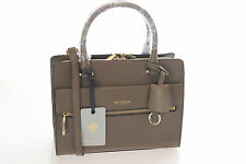 Modalu Erin Moss Green Three Compartment Leather Mini Tote Bag BNWT RRP £199.00