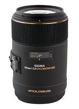 Sigma EX 105mm Macro f/2.8 HSM DG EX OS Lens For For Nikon