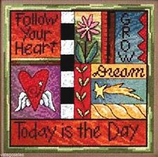 "Mill Hill Cross Stitch Bead Sticks Kit 7"" x 7"" ~ TODAY IS THE DAY #15-2104 Sale"
