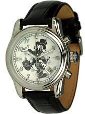 Disney Quarzuhr Chronograph mit Dagobert Duck Motiv Unisexuhr