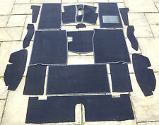 MG MIDGET & AUSTIN HEALEY SPRITE CLASSIC NEW DARK BLUE CARPET SET