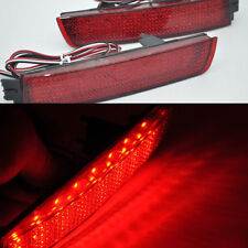 For Infiniti FX35 F37 Fx37 2x Red Len Rear Bumper Reflector LED Brake Tail Light