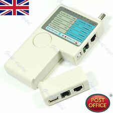 HOT Portable Remote RJ11 RJ45 USB BNC LAN Network Phone Cable Tester