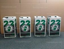 4-PACK OF 30LB - R-22  REFRIGERANT - BRAND NEW & FACTORY SEALED - SAME DAY SHIP