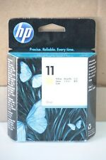 Originale Hewlett Packard : Cartouche encre YELLOW N° 11 / C4838A Date 10/2015