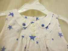 NWT LITTLE MARC JACOBS BABY GIRLS  DRESS WHITE SIZE 12 MONTHS