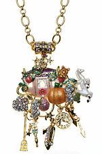 Kirks Folly Cinderella Coach LATE FOR THE BALL MAGNETIC ENHANCER with NECKLACE