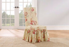 Sure Fit Blush Ballad Bouquet dining room chair slipcover slip cover