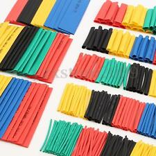 328Pcs Polyolefin 2:1 Ratio Heat Shrink Tubing Sleeving Wrap Wire Cable 8 Size