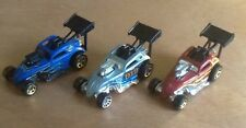 Diecast HOT WHEELS FIAT CINQUECENTO 500 C DRAGSTER Raccolta di tre WOW