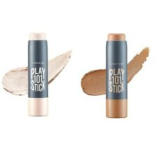 Etude House Play 101 Stick #10 Highlighter + #11 Shading Set for Contouring SET