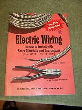 1955 Electric Wiring is Easy to Install with Sears Materials & Instructions