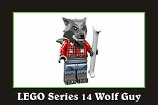 LEGO Minifigures Series 14 71010 Wolf Guy NEW