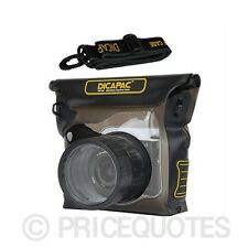 Original DiCAPac WP-S3 Waterproof for Mirrorless Cameras Up to 16ft Underwater