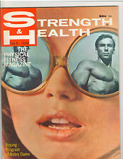Strength & Health Bodybuilding Muscle Weightlifting Magazine BOYER COE 7-69